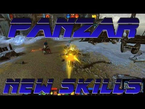 видео: panzar | Новые скиллы (фан видео)