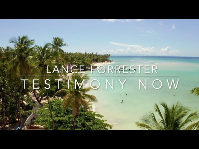 Testimony Now interviews Lance Forrester