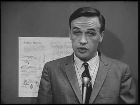 Gun Control Act report, 1968