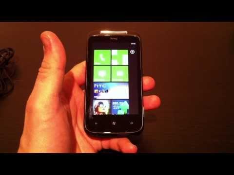 Test du HTC 7 Mozart | par Top-For-Phone.fr