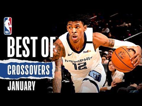NBA's Best Crossovers   January   2019-20 NBA Season