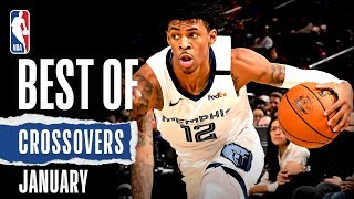 NBA's Best Crossovers | January | 2019-20 NBA Season