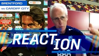 REACTION | BRENTFORD vs CARDIFF CITY | MICK McCARTHY & THOMAS FRANK GIVE THEIR VERDICT