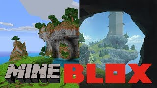 What If Minecraft Was In Roblox??