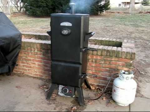 Master Forge Propane Smoker Review Youtube