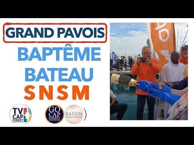 Grand Pavois La Rochelle 2021 #9 Baptême Semi-Rigide de la SNSM en présence du Député Oliver Falorni