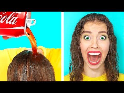 4 Пранка и Лайфхака с Кока Колой | DIY Пранки с Кока Колой от Ideas 4 Fun