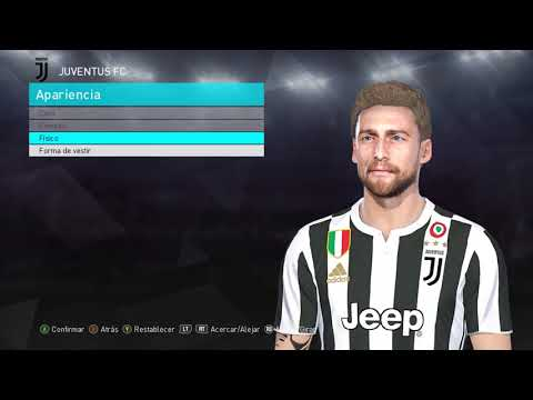 Marchisio Face and Tattoo PES 2018 by neest