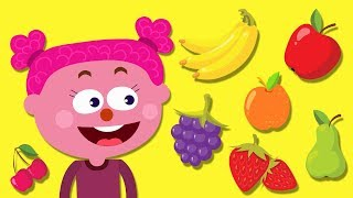 Learn Fruits Names With A Fun Fruit Party | Milkshakes And Juices by Teehee Town