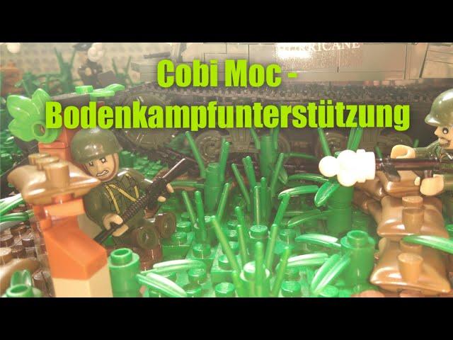 Cobi/Lego WW2 Moc - Bodenkampfunterstützung [German]