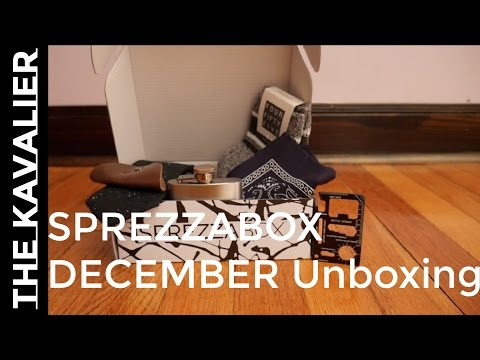 First Delivery - Sprezzabox December 2016 | Unboxing And Review