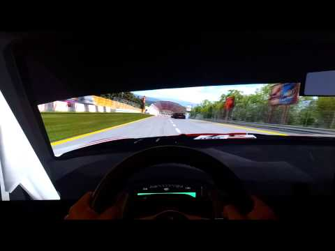 Rfactor - FIA GT1 Race @ AF -RF1 Park .