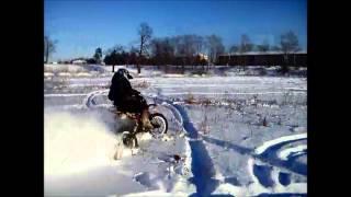 Мотозима 2014 / Winter IRBIS TTR 125 / 01.02.2014. Sobinka