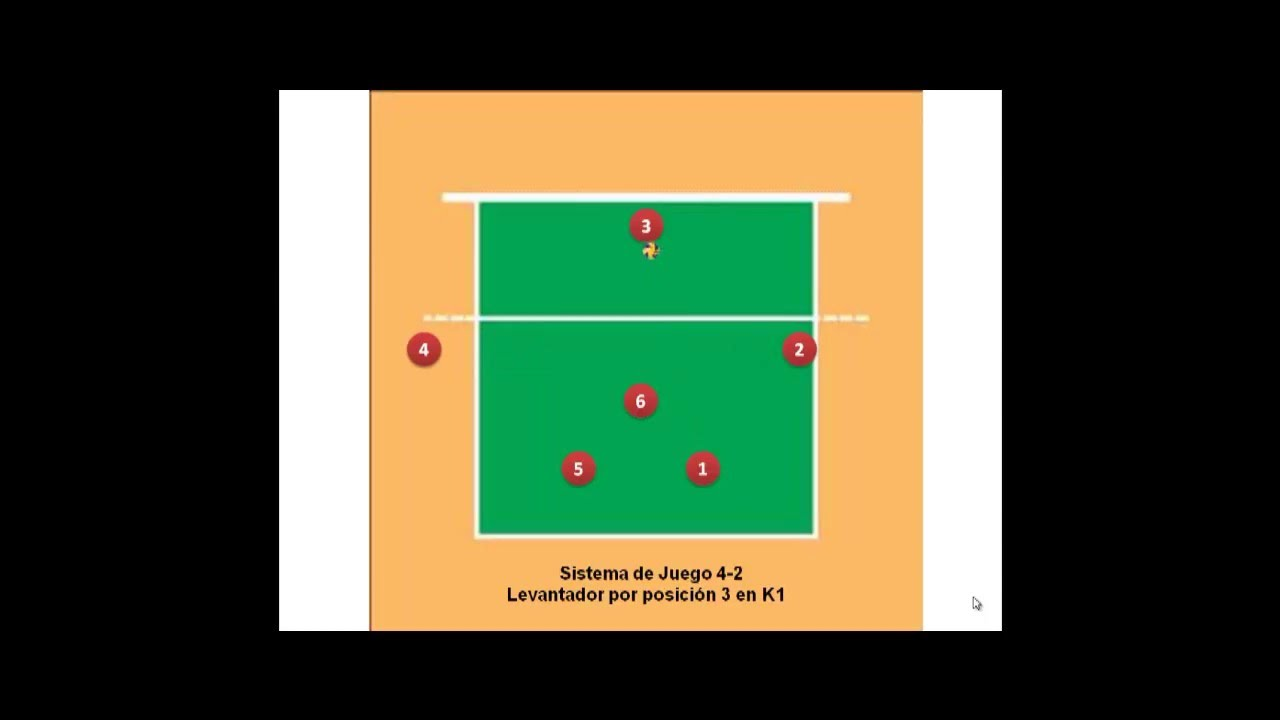 Del posiciones voleibol tacticas