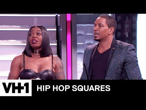 Ta'Rhonda Jones & Laz Alonso Play Tag That Title 'Deleted Scene' | Hip Hop Squares