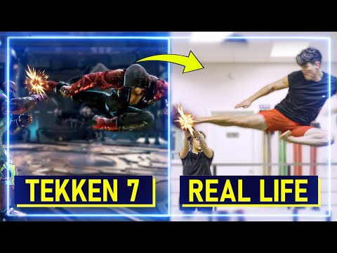 Expert Martial Artists RECREATE Moves From Tekken 7 | Experts Try