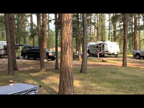 Riverside Campground Belle Fourche South Dakota