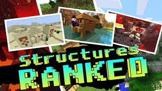 Every Minecraft Structure RANKED