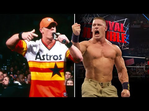 The evolution of Royal Rumble Match participants