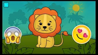 How to  colouring books baby funny animals | puzzle for kids game show