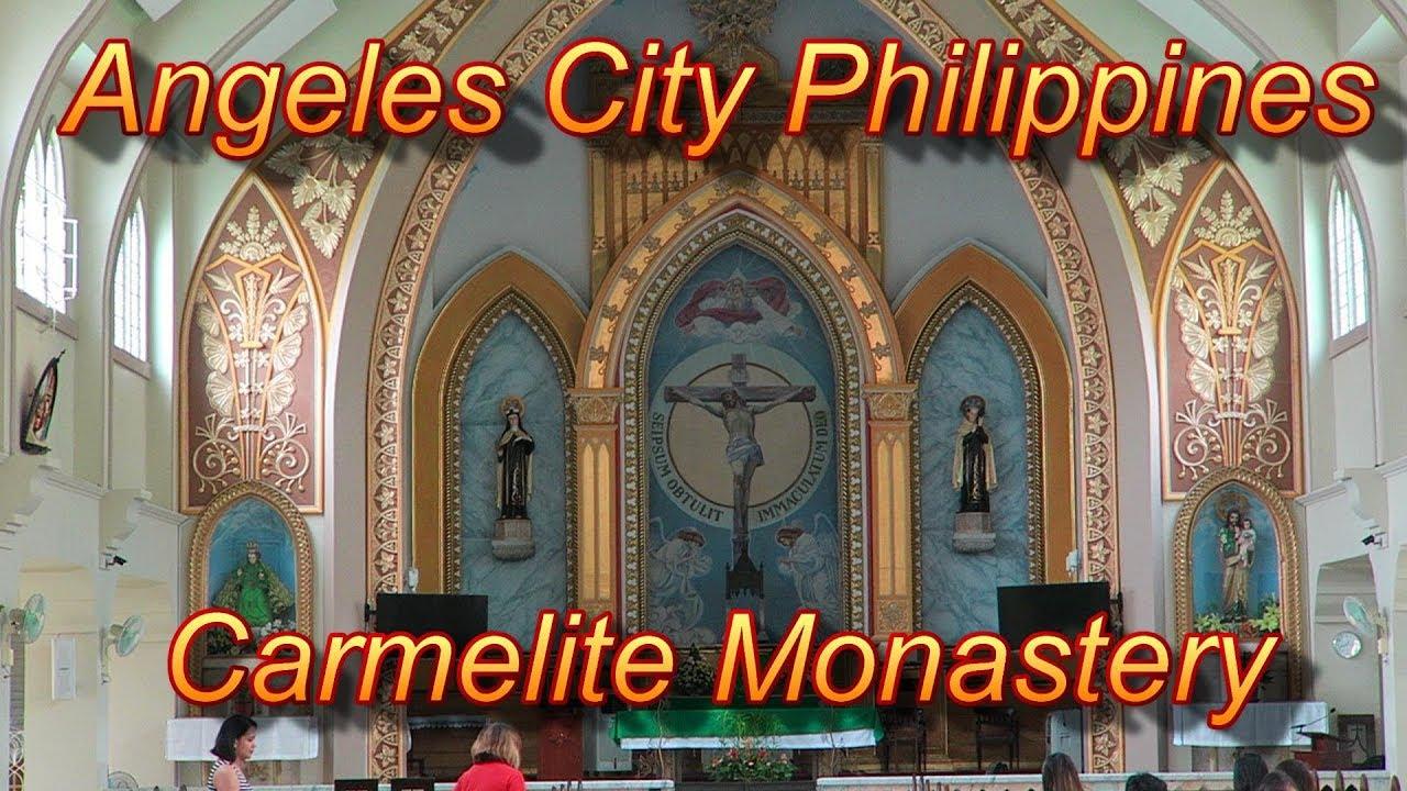 Angeles City Philippines : Carmelite Monastery