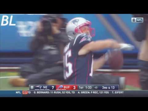 "Chris Hogan ""Light it Up"" 2016 New England Patriots highlights"
