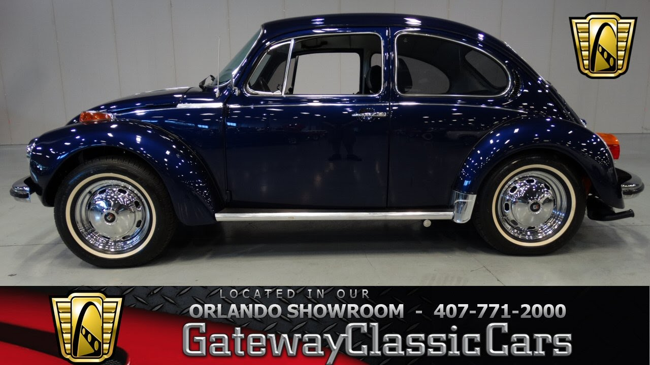 1973 Volkswagen Beetle Gateway Classic Cars Orlando - YouTube