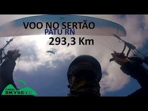 Parapente voo cross country - PATU RN 293,3 km