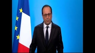 """François Hollande : """"J"""