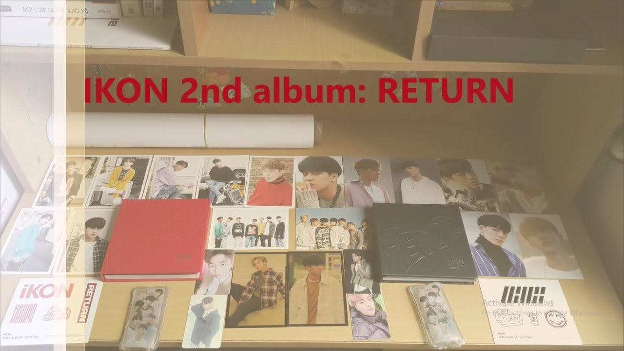 UNBOXING IKON'S THE NEW KIDS: RETURN ALBUM [ BLACK VER]