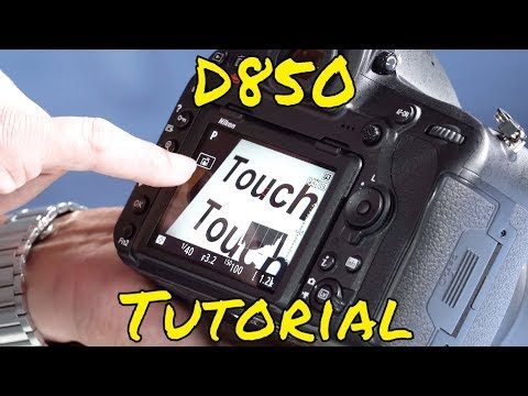 nikon d850 tutorial youtube
