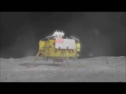 China's CNSA rover landing on far side of moon