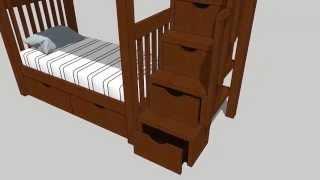 Двухъярусная кровать - концепт(, 2015-03-02T14:57:40.000Z)