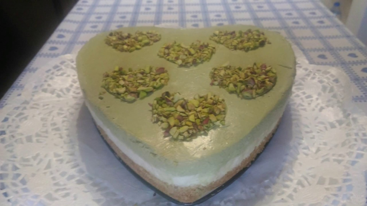Torta Fredda Con Mousse Al Pistacchio Cheesecake Ricetta Facile