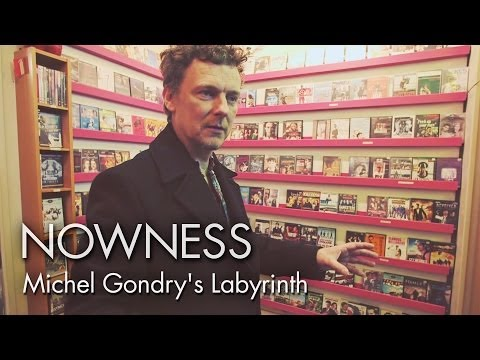 """Michel Gondry in """"A Cinephile's Labyrinth"""""""