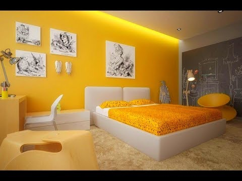 Wall Paint Design Ideas For Living Room | Wall Paint Colors Combinations | Wall Painting