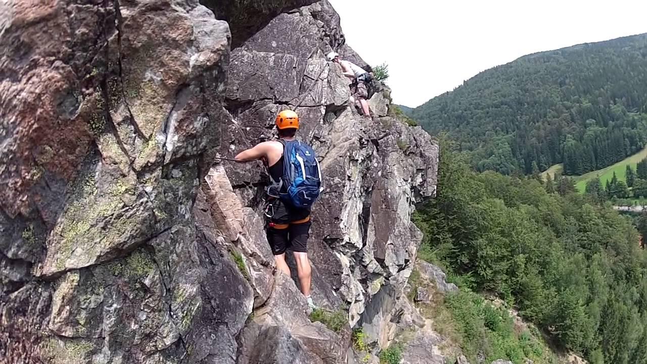 Klettersteig Todtnau : Klettersteig todtnau schwarzwald feb