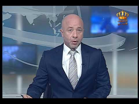 English News at Ten on Jordan Television 30-08-2017