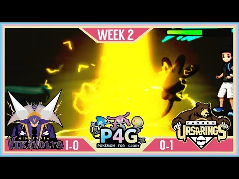ELECTRIFIED! | Minnesota Vikavolts VS Camden Ursarings P4G S2 W2  | Pokemon Sun Moon