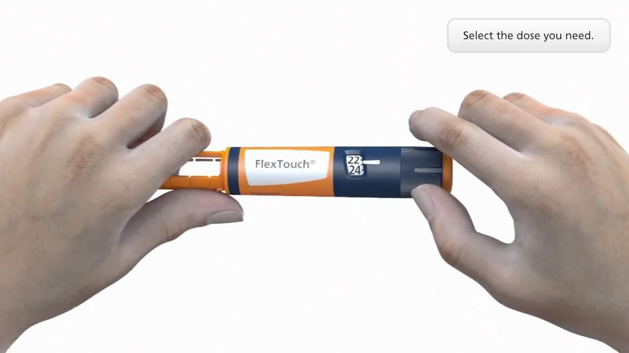 1/2 - Guía rápida para Novo Nordisk ® Device FlexTouch
