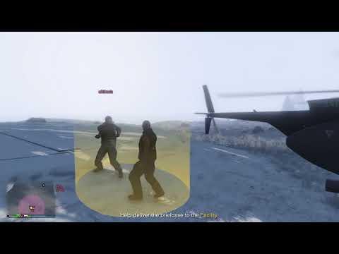 Grand Theft Auto V PS4 Pro, The Job Description pt.13 You, me & Act:III