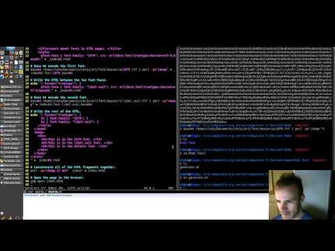 Embed True Type Fonts Into Html Webpage Using Base64 Encoding