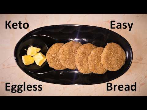 Keto Easy Eggless Bread (A Quick One)