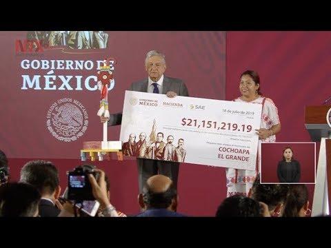 Municipios de Guerrero reciben dinero por subasta de propiedades
