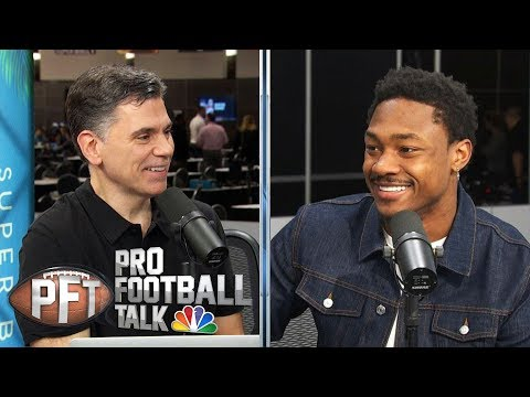 Stefon Diggs scouts 49ers-Chiefs Super Bowl (FULL INTERVIEW)   Pro Football Talk   NBC Sports