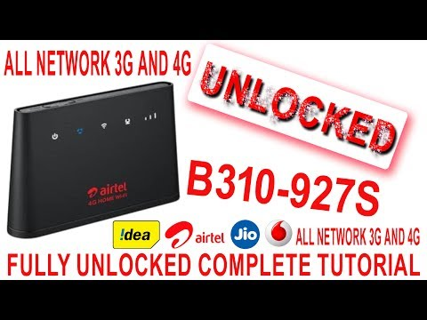 huaweI b310 usb problem fix and unlock new technique - YouTube