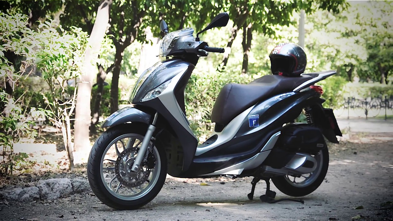 piaggio medley 150 test-ride - youtube