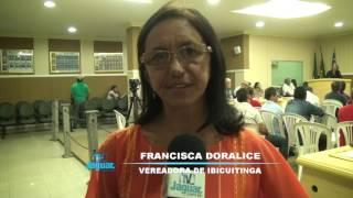 Ibicuitinga - Vereadora Doralise de Canidezinho fala da homenagem as mulheres
