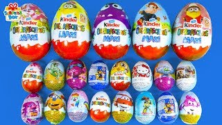 Learning Color And Big Size Small Size Surprise Egg Rhymes Play For Kids