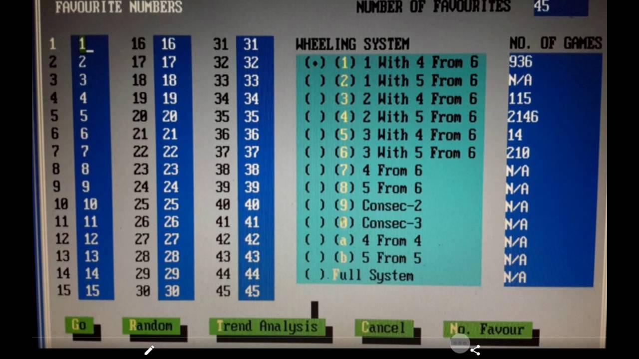 Lotto Systeme Erklärung